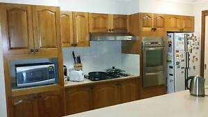 Solid QLD Blackwood Timber Kitchen Casula Liverpool Area Preview