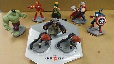 (Pa2) Disney Infinity Avengers Figures 2.0 Bundle + Portal