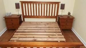 Queen Bedroom Suite Solid Wood
