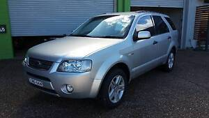 2004 Ford Territory GHIA (AWD) 4.0L 6 Cylinder Wagon - AUTOMATIC Waratah Newcastle Area Preview