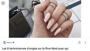 Technicienne pose d 'ongles 10/30 Brossard