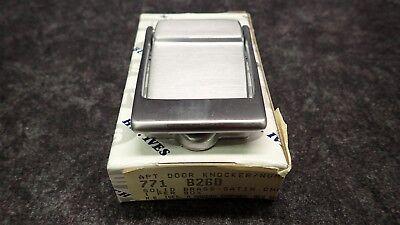 IVES Apt Door Knocker Solid Brass-Satin Chrome Finish 771-B26D, -
