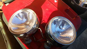 """4x4 fog flood lights 8"""" good condition. Greenfield Park Fairfield Area Preview"""