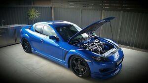Mazda Rx8  custom 13b turbo 500whp built immaculate Harrington Park Camden Area Preview