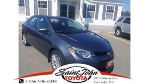 2014 Toyota Corolla LE with Leather+ Alloys $157.21 BIWEEKLY!!!