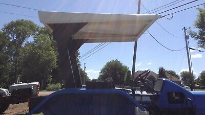New Holland 7840 Rops Canopy With Bar And Brackets
