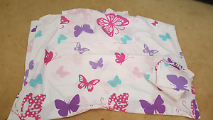 Butterflies x 2 quilt cover set price is EACH Andrews Farm Playford Area Preview