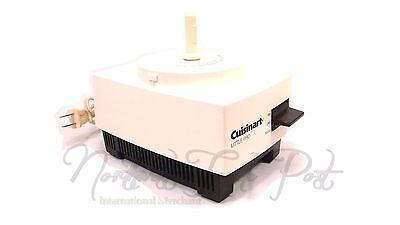 Cuisinart Part: Replacement Motor Base for Model Little Pro Food Processor NICE!