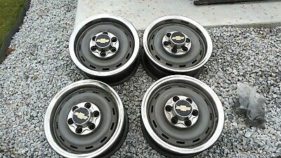 Set of Four 88-98 Chevy GMC K1500 K2500 SUV TRUCK  6-Lug STEEL RIMS WHEELS 16""