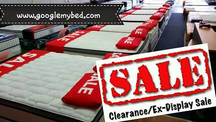 END OF LEASE!!CLEARING ALL VERY FIRM MATTRESSES TOP QLTY WA MADE