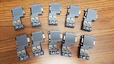 6es7972-0bb70-0xa0 Siemens Profibus Connectors Lot Of 10
