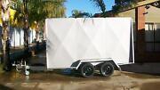 12 x 6 6Ft high Van Trailer White Hills Bendigo City Preview