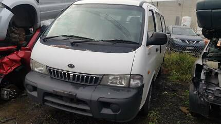 Kia Pregio 2003 - Now Wrecking! Cheap parts.