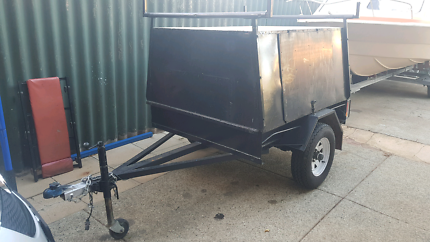 Enclosed 6x4 Trailer For Sale