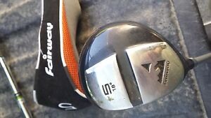 LH 5 wood with head cover