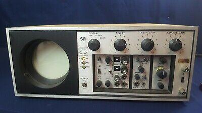 Vintage Smithkline Oscilloscope Model E-20 Echocardiogram Powers Up 3-day Refund