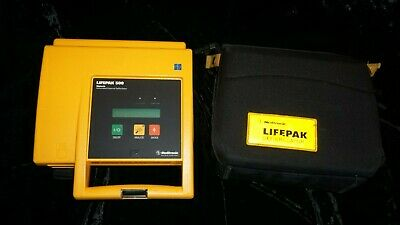 Lifepak 500 With Carry Casegood Working Condition Biomed Tested