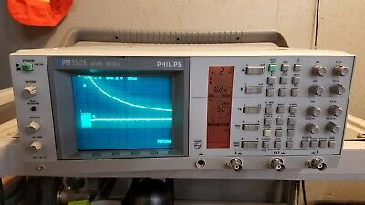 Philips Pm3352a Oscilloscope 60mhz 100 Mss