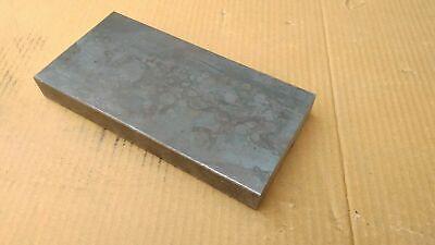 Blacksmith Steel Flat Bar Bench Plate Welding Press - 8 X 4 X 1