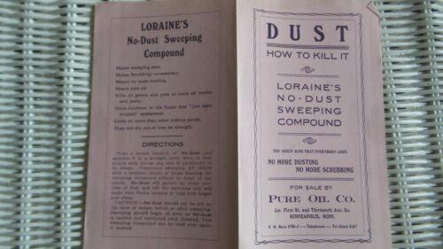 Vintage Advertising Brochure LORAINE