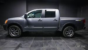 2013 Nissan Titan PRO-4X REAR VIEW CAMERA   BED LINER   TOWIN...