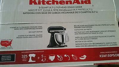 Смесители (столешница) KitchenAid Artisan KSM150PSOB Stand