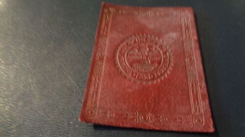 1912 L-23 State Seal Tobacco Leather -  Tennessee