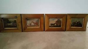 Set of 4 Racing Horse Pictures for all horse lovers Rockingham Rockingham Area Preview
