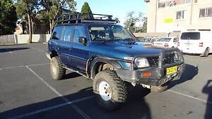 2000 Nissan Patrol TD42 - 4 inch lift, 35 inch mud tires, LED Riverwood Canterbury Area Preview