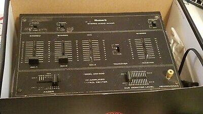 Vintage Numark Brand DM-500 Stereo Pre-Amplifier Audio Mixer * Old