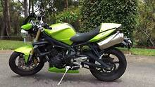 2009 Triumph Street Triple 675 - Green Warners Bay Lake Macquarie Area Preview