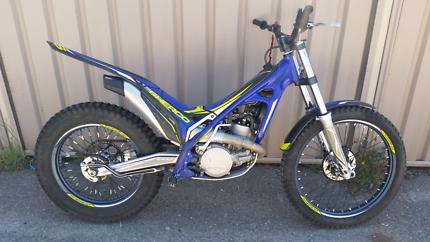 Sherco ST250 2016 model trials bike