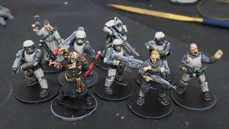 Stargrave 28mm Painted Trooper Crew