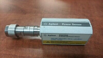 Agilent Power Sensor E4412a For Parts As-is Not Working Free Shipping