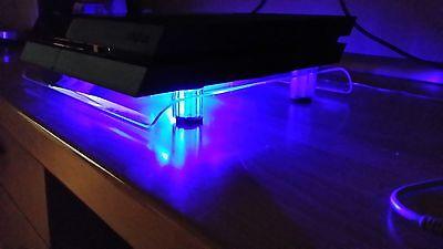 USB Design Kühler Lüfter 18cm Ständer passend für PS4 Playstation 4 Zubehör NEU