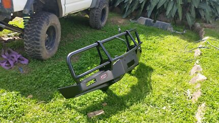 Arb winch bar gq nissan patrol bullbar Kingsgrove Canterbury Area Preview