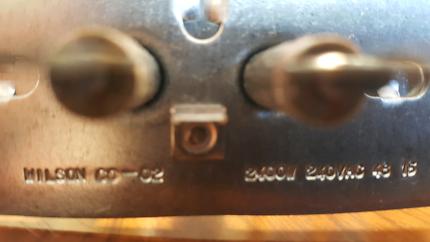 Oven element