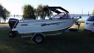 SeaJay Capri Runabout- 4.55mtr,50HP Etec Outboard,Dunbier trailer Yarrawonga Moira Area Preview