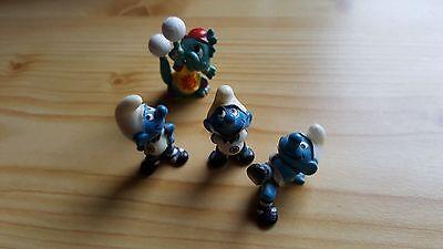 Überraschungseier Ü-Eier Die Fussball-Schlümpfe aus dem Jahr 1988