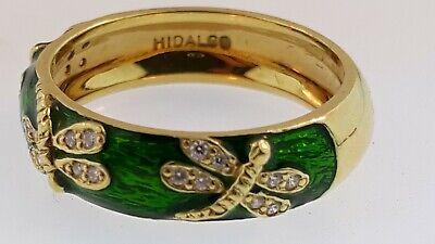 HIDALGO 18KYG RING W/ DRAGON FLIES