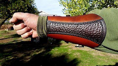 ARCHERY BRACER- ARM GUARD- HANDMADE-NEW DESIGN.