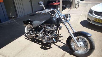 1989 Harley Davidson swap