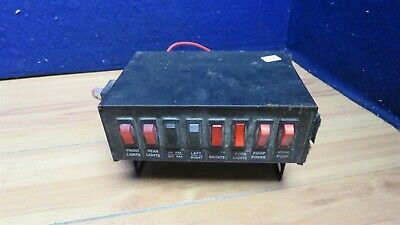Utility Truck 8 Button Control Box For Lights Equipment 595494