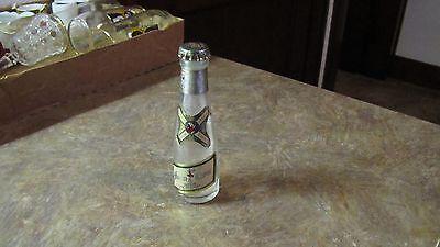 Antique Vintage Labeled Miller High Life Souvenir Sample Beer Bottle