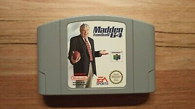 N64 Nintendo 64 Game - Madden Football 64 - PAL