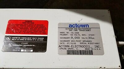Actown Neon Transformer Neon Sign Outdoor Non-weatherproof 9000 Volt