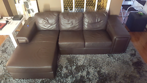 Italian Leather Chaise lounge REDUCED FOR QUICK SALE East Hills Bankstown Area Preview