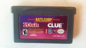 Battleship Risk Clue - Game Boy Advance (3 games in 1) Toongabbie Parramatta Area Preview