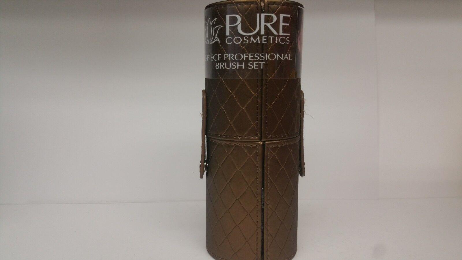 Pure Cosmetics Professional Makeup Brush Set 12 Pieces Quilt