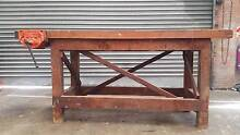 Work bench with vice Tempe Marrickville Area Preview